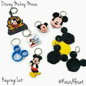 Disney Mickey Mouse Keyrings & Balloon Weights